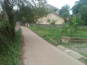 Tampak jalan beton